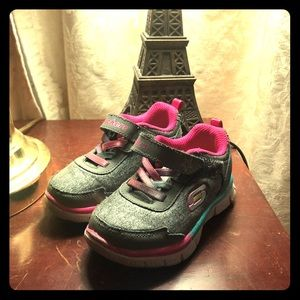 Skechers toddler tennis shoes